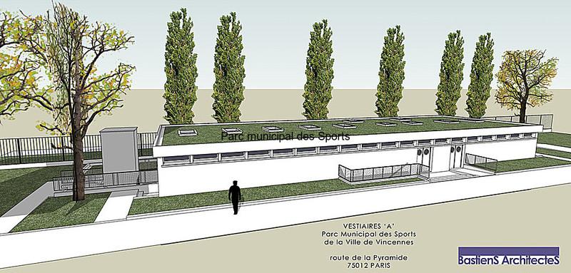 Bastiens architectes projets de marches publics for Piscine vincennes